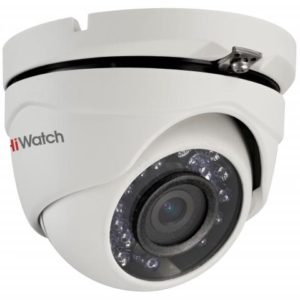 1Мп уличная купол. HD-TVI камера Hiwatch DS-T 103 (123) (2,8мм)